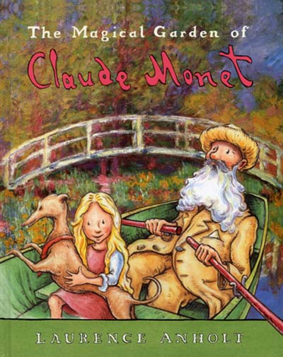 The  Magical Garden of Claude Monet - Jacket