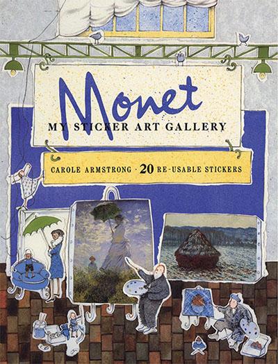 My Sticker Art Gallery: Monet - Jacket