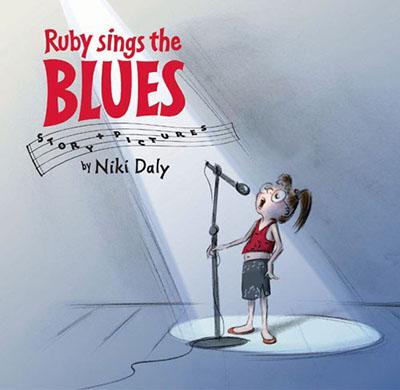 Ruby Sings the Blues - Jacket