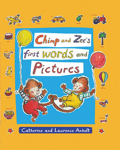 Chimp and Zee's First Words and Pictures - Jacket