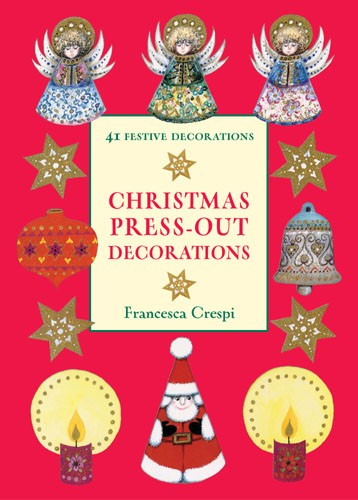 Christmas Press-out Decorations - Jacket