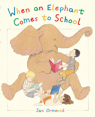 When an Elephant Comes to School - Jacket
