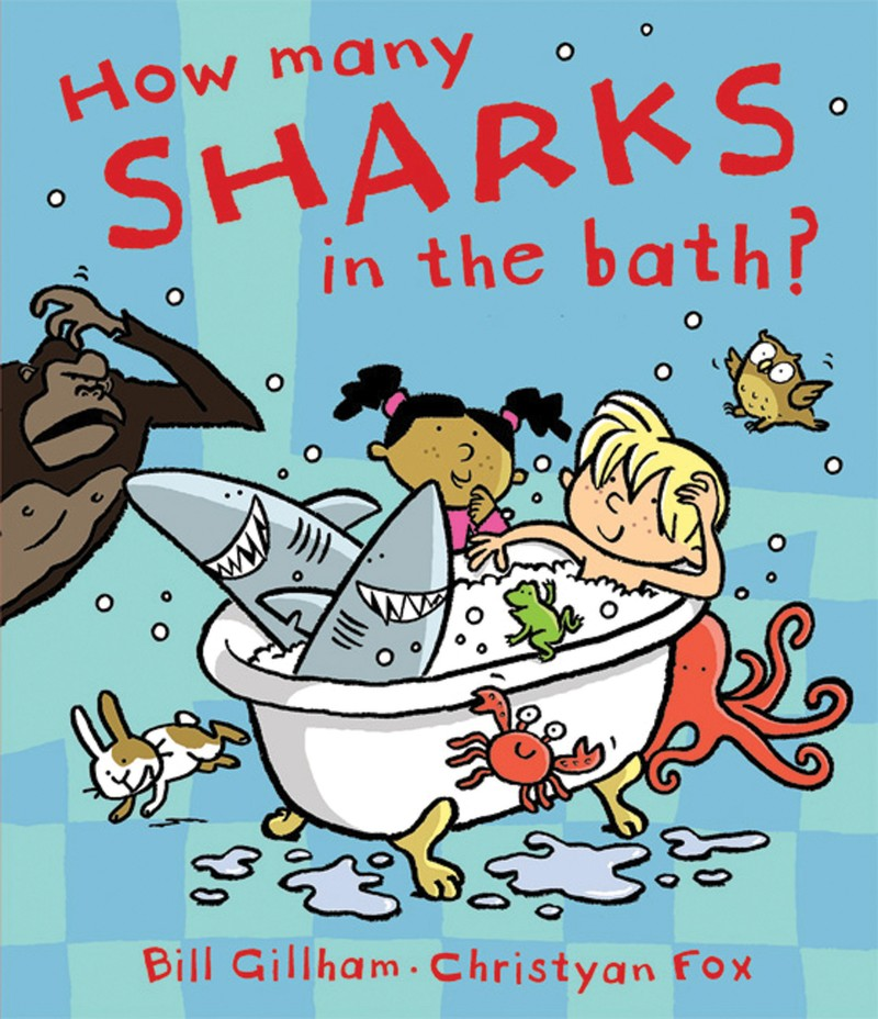 How Many Sharks in the Bath? - Jacket