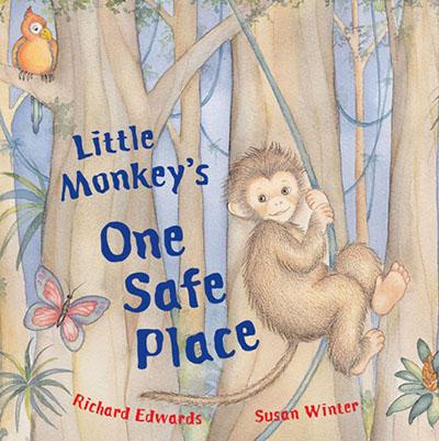 Little Monkey's One Safe Place - Jacket