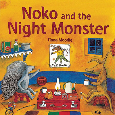 Noko and the Night Monster - Jacket