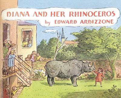 Diana and Her Rhinoceros - Jacket