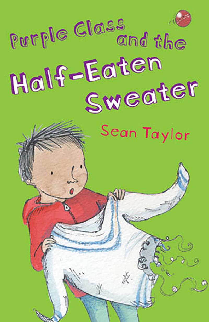 Purple Class and the Half-Eaten Sweater - Jacket