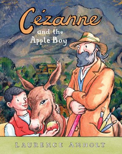 Cézanne and the Apple Boy - Jacket