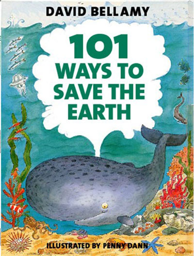 101 Ways to Save the Earth - Jacket