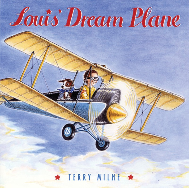 Louis' Dream Plane - Jacket