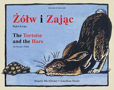 The  Tortoise and the Hare (Dual-language Polish/English) - Jacket
