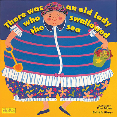 There was an Old Lady who Swallowed the Sea Doll - Jacket