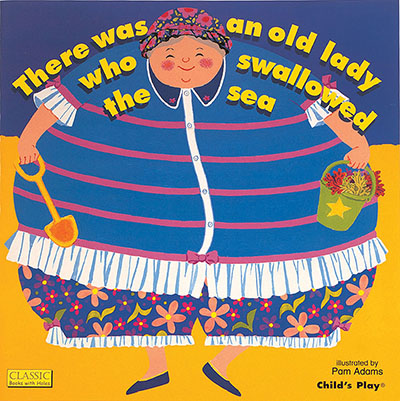 There Was an Old Lady Who Swallowed the Sea - Jacket