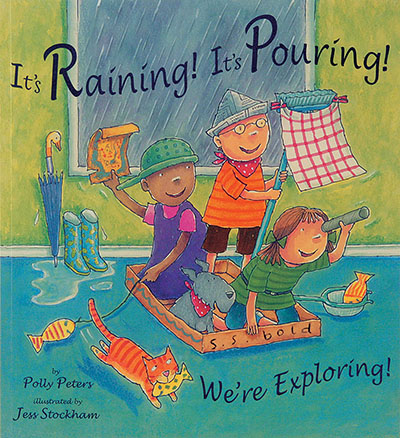 It's Raining! It's Pouring! We're Exploring! - Jacket