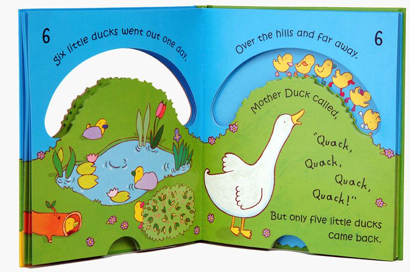 Ten Little Ducks - Jacket