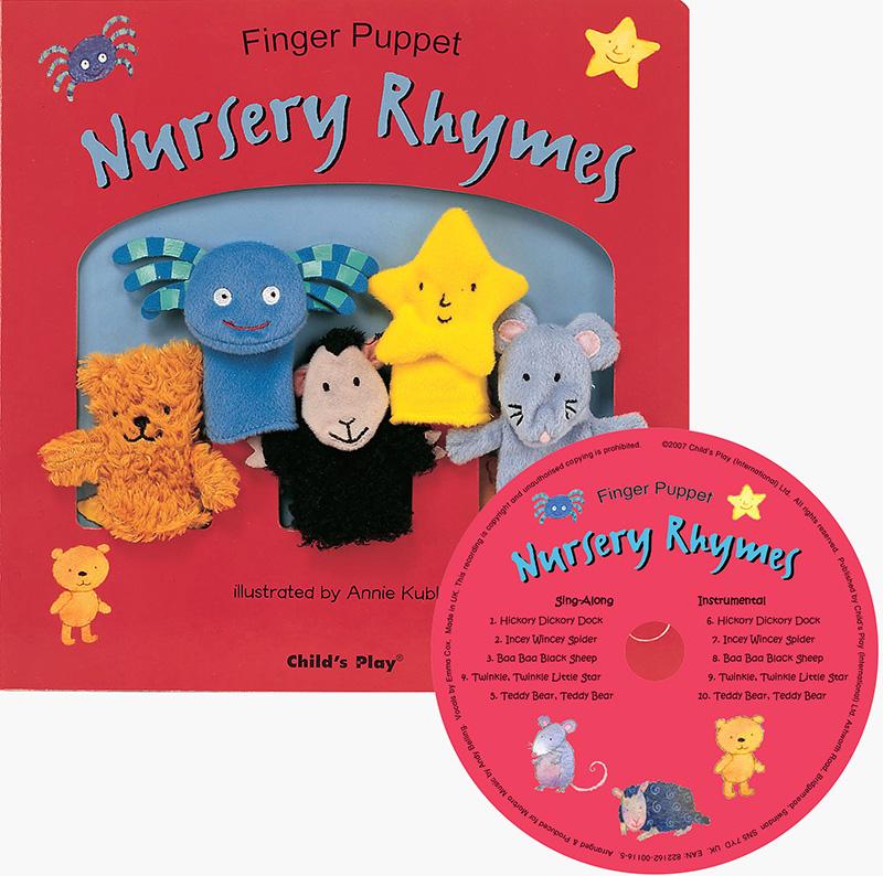 Finger Puppet Nursery Rhymes - Jacket