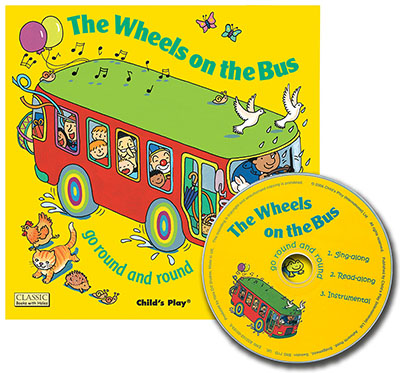 The Wheels on the Bus go Round and Round - Jacket