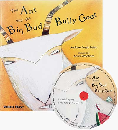The Ant and the Big Bad Bully Goat - Jacket