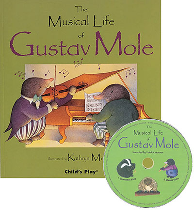 The Musical Life of Gustav Mole - Jacket