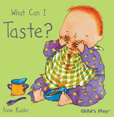 What Can I Taste? - Jacket