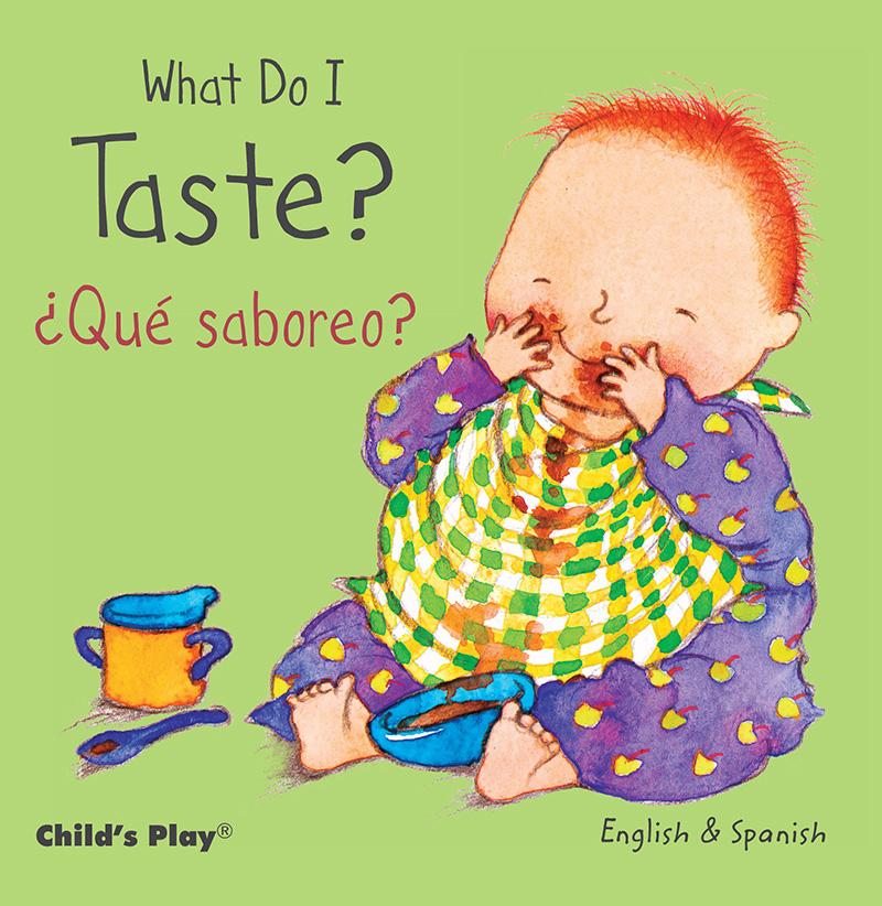 What Do I Taste? / ¿Qué saboreo? - Jacket