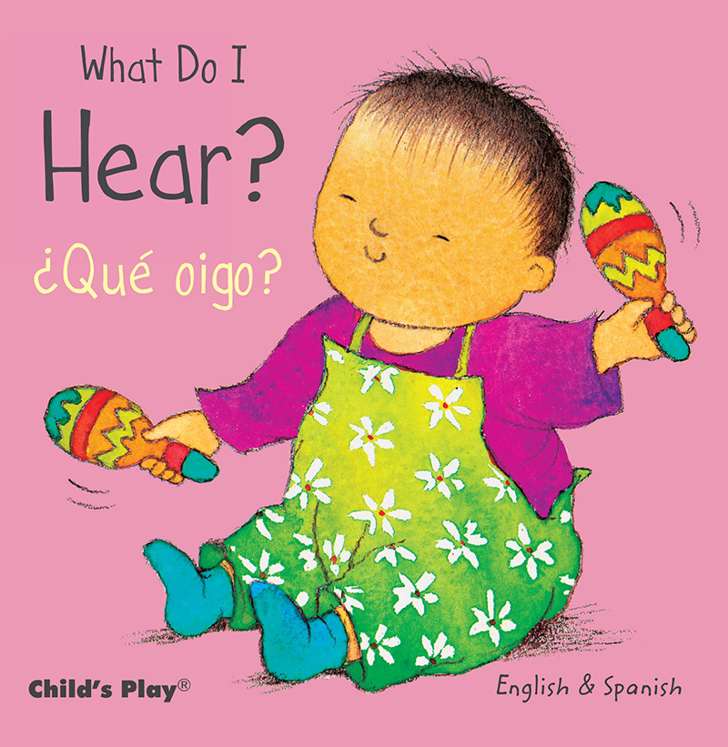 What Do I Hear? / ¿Qué oigo? - Jacket