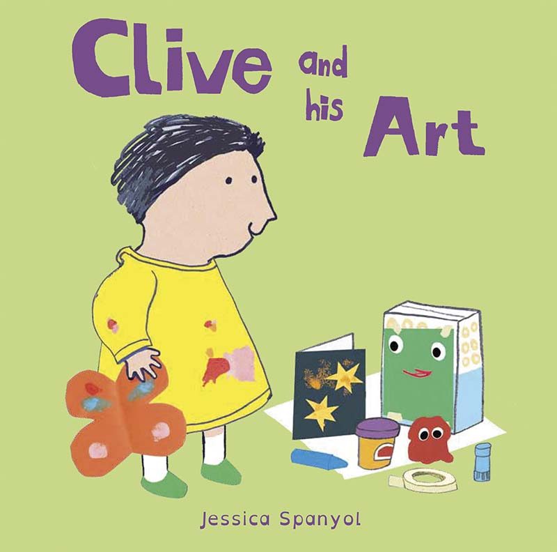 Clive and his Art - Jacket