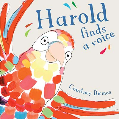 Harold Finds a Voice 8x8 edition - Jacket