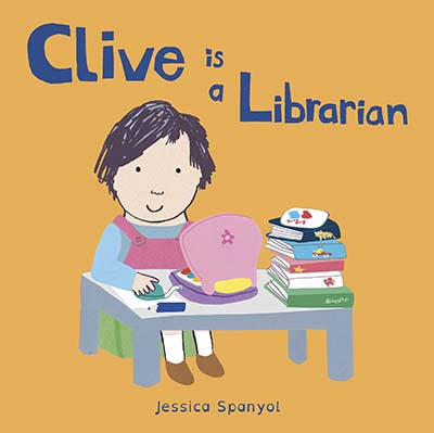 Clive is a Librarian - Jacket