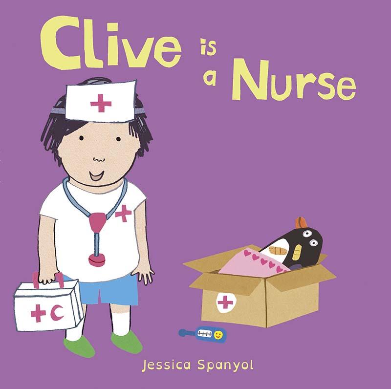 Clive is a Nurse - Jacket
