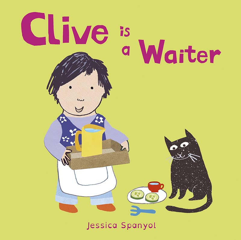 Clive is a Waiter - Jacket