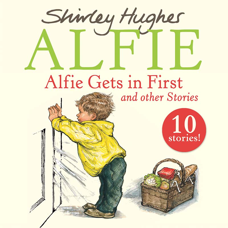 Alfie Gets in First and Other Stories - Jacket