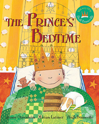 Prince's Bedtime BC w CD, The - Jacket