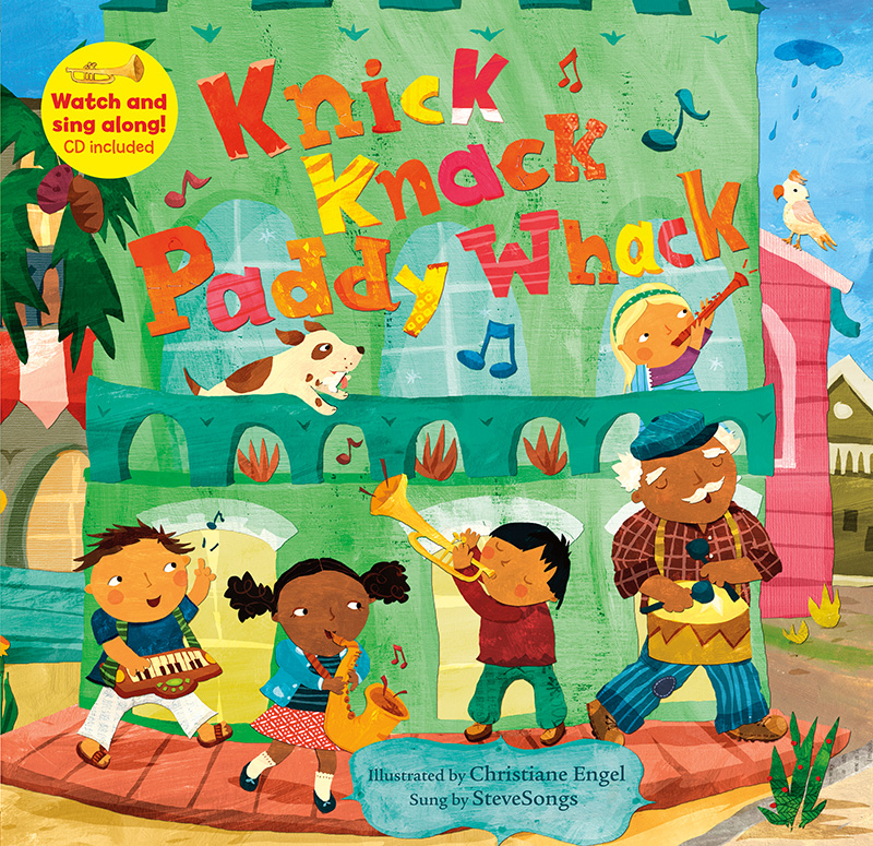 Knick Knack Paddy Whack BC w CDEX - Jacket
