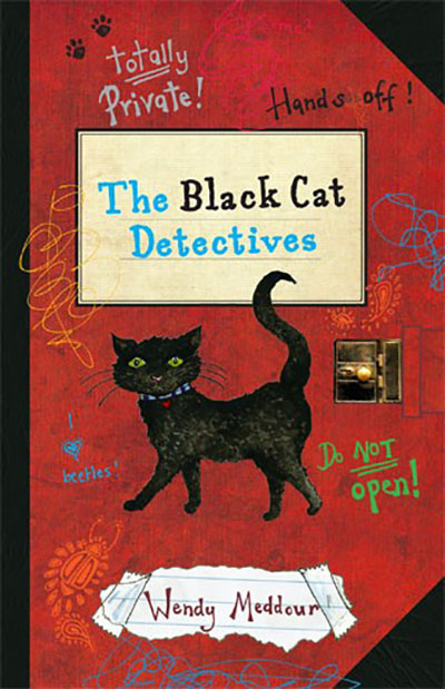 The  Black Cat Detectives - Jacket