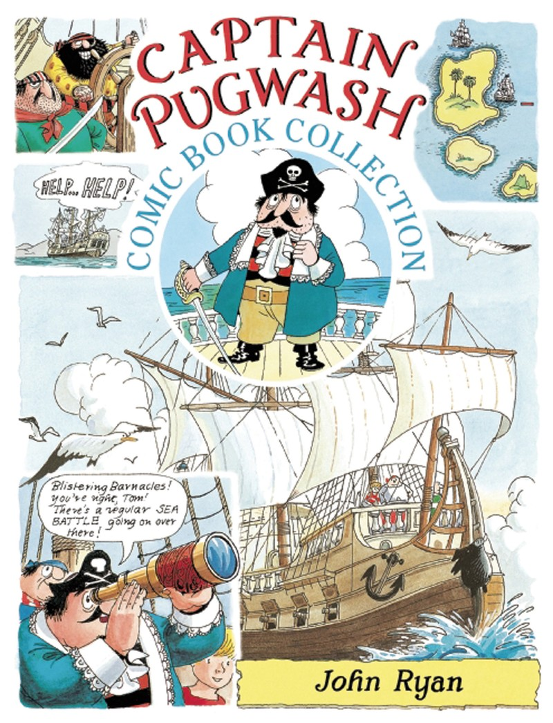 The  Captain Pugwash Comic Book Collection - Jacket