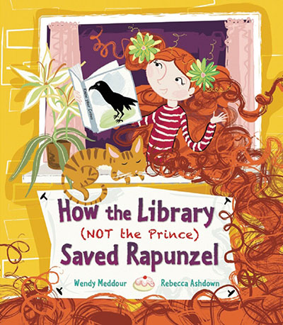 How the Library (Not the Prince) Saved Rapunzel - Jacket