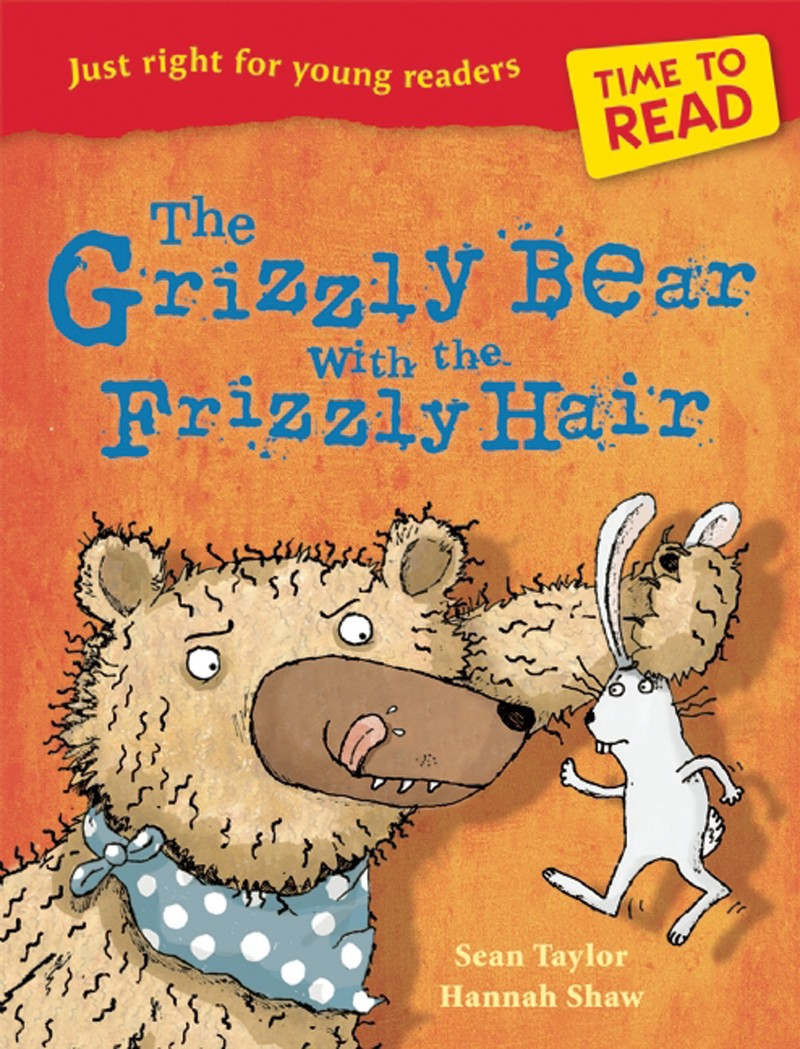 Time to Read: The Grizzly Bear with the Frizzly Hair - Jacket