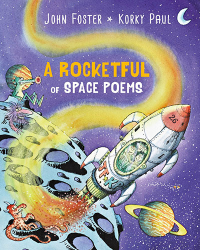 A Rocketful of Space Poems - Jacket