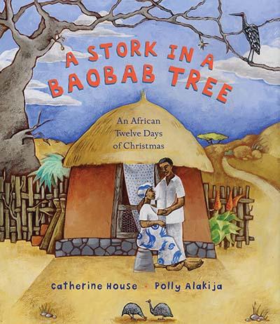 A Stork in a Baobab Tree - Jacket