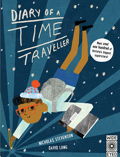 Diary of a Time Traveller - Jacket