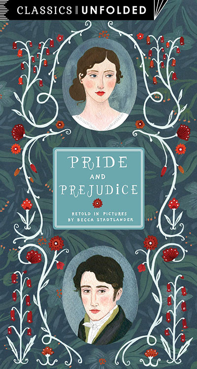 Classics Unfolded: Pride and Prejudice - Jacket