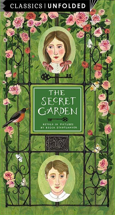 Classics Unfolded: The Secret Garden - Jacket