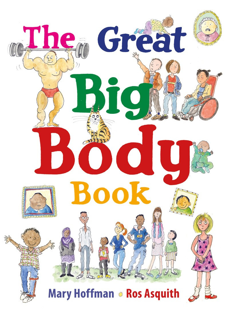 The  Great Big Body Book - Jacket
