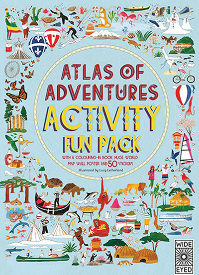 Atlas of Adventures Activity Fun Pack - Jacket