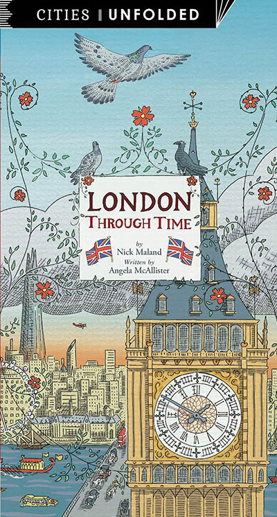 London Through Time - Jacket