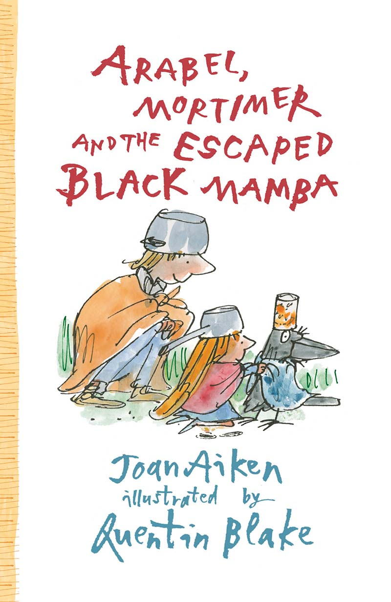 Arabel, Mortimer and the Escaped Black Mamba - Jacket
