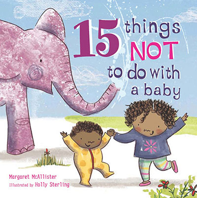15 Things Not to Do with a Baby - Jacket