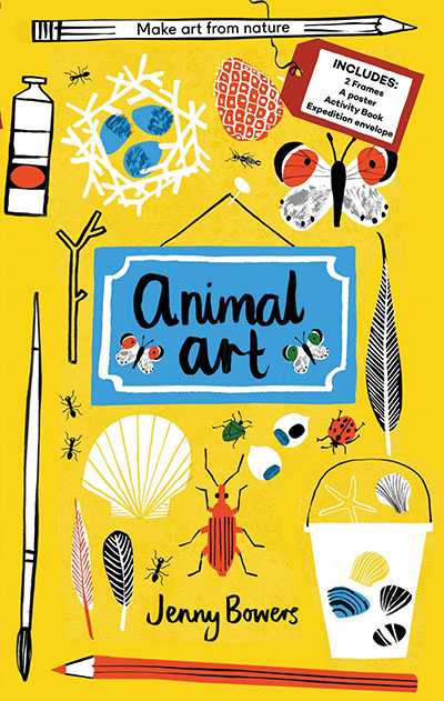 Little Collectors: Animal Art - Jacket
