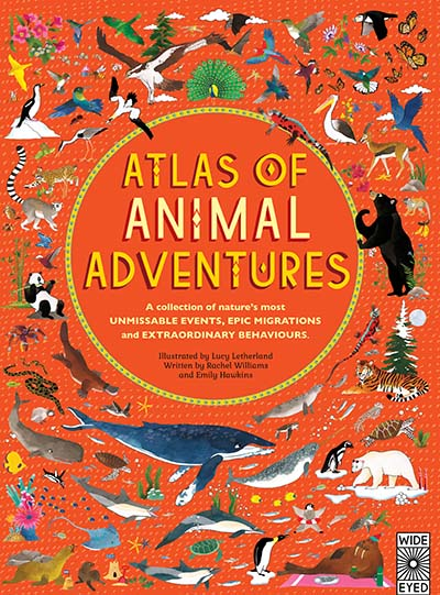Atlas of Animal Adventures - Jacket